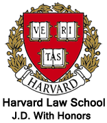 Harvard Law School, J.D. With Honors